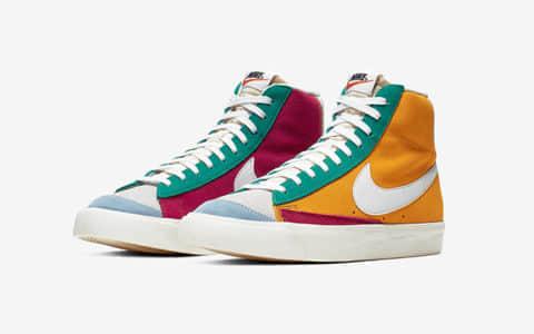 Nike Blazer Mid Vintage 货号:CI1167-600