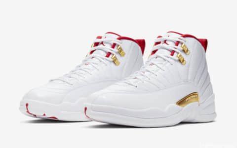 """心只为此燃!Air Jordan 12""""FIBA""""世界杯篮球鞋专属! 货号130690-107"""