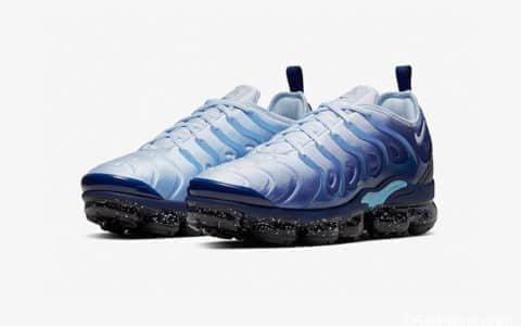 蓝白泼墨酷似星空!Nike VaporMax Plus新配色强势来袭! 货号:CK1411-400