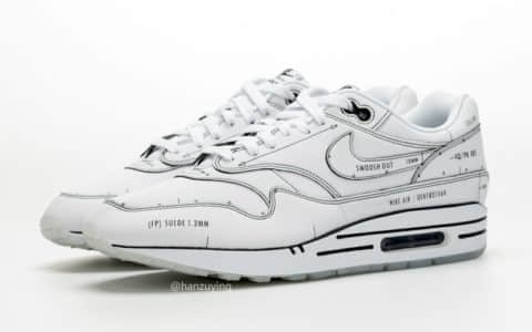 "Nike Air Max 1 Tinker ""Schematic"" 货号:CJ4286-100"