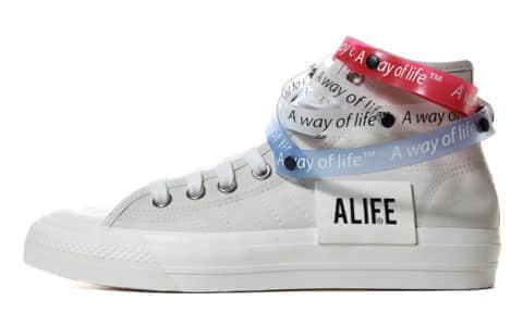 ALIFE x Adidas Consortium Nizza Hi RF 货号:G27820