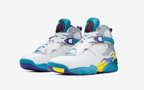 "Air Jordan 8 ""White Aqua"" 货号:CI1236-100"