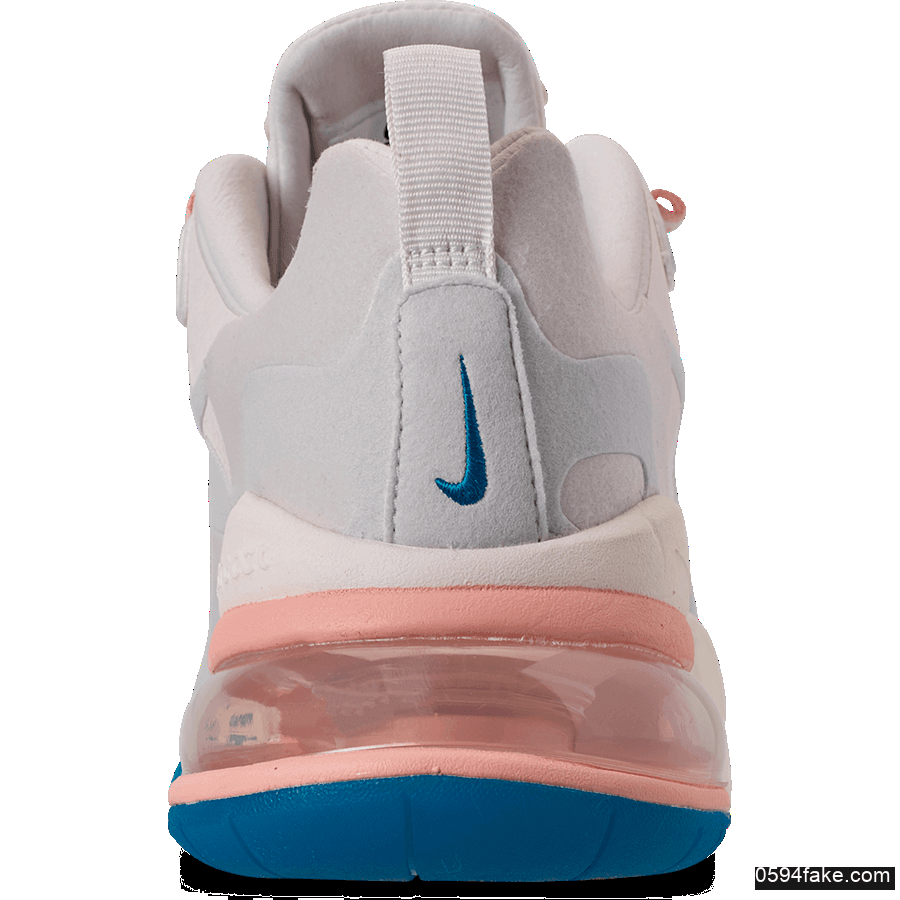 "Nike Air Max 270 React""Summit White""耐克全新Max270属于夏天的配色 货号:AO4971-100"