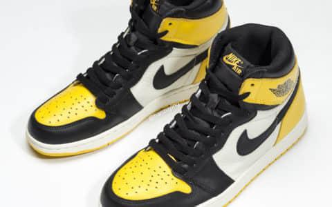 "Air Jordan 1 High OG""Yellow Toe""抢眼的黄色 AJ1又添新""成员""  货号:AR1020-700"