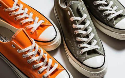 Converse chuck 70 OX 匡威推出两款全新配色怎么搭都好看夏天必备帆布鞋