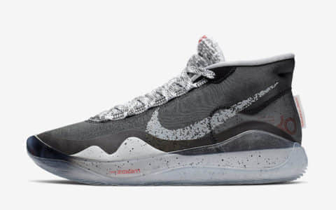 "Nike KD 12""Black Cement"" 杜兰特12代黑水泥配色预计将于7月20号发布 货号:AR4230-002"