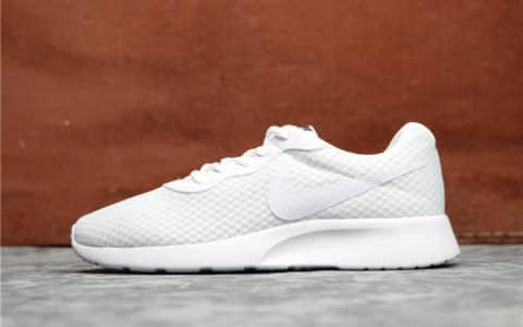 Nike Roshe Run TANJUN全白 耐克奥运伦敦3代网面透气真标高品质 货号:812654-110