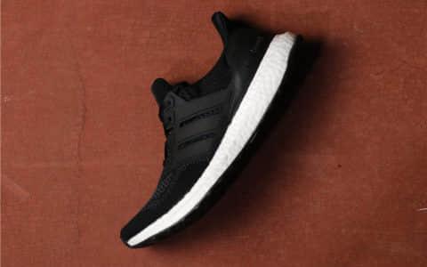 Adidas Ultra Boost UB1.0阿迪达斯UB1.0黑白真标带半码 货号:S77417