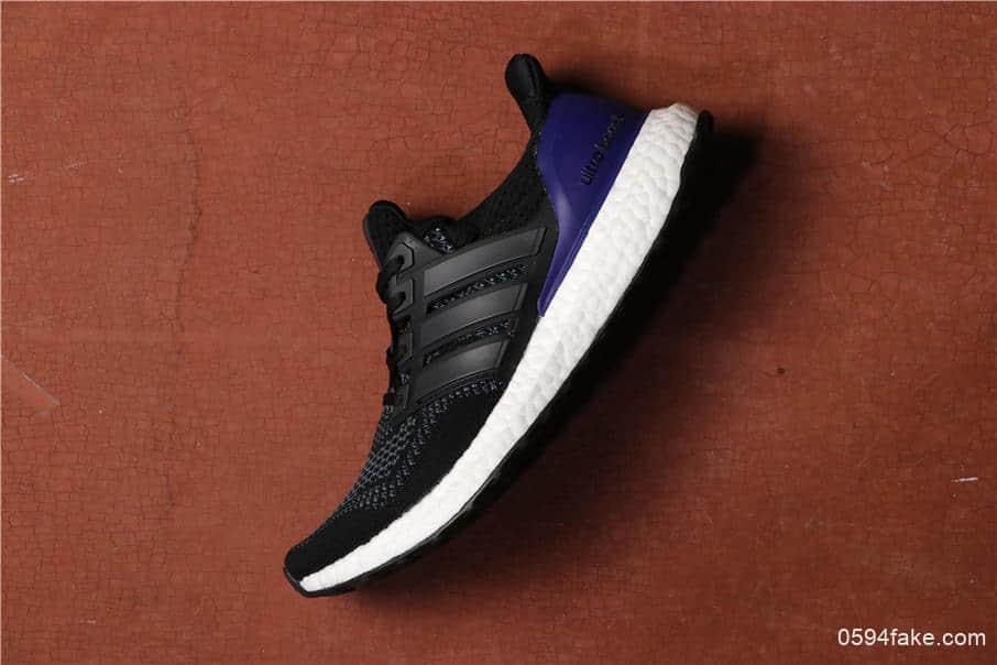 Adidas Ultra Boost UB1.0阿迪达斯UB初代黑蓝真标高品质爆米花大底 货号:G28319