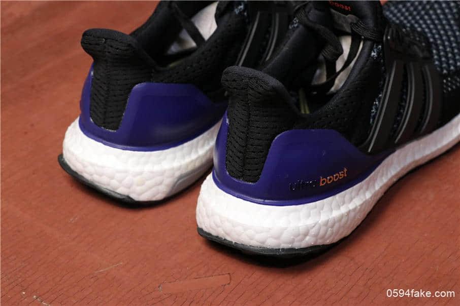 96a7a3012d0 Adidas Ultra Boost UB1.0阿迪达斯UB初代黑蓝真标高品质爆米花大底货号 ...
