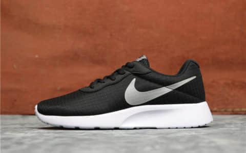 Nike Roshe Run TANJUN黑灰 耐克奥运伦敦3原厂钢印原装渠道真标高品质 货号:844908-002