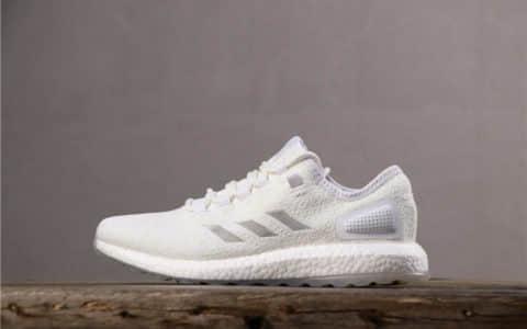"""Adidas Pure Boost S.E UB阿迪达斯三方联名""""电光水母""""荧光纯白公司级 货号:S80981"""