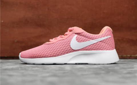 Nike Roshe Run TANJUN粉白 耐克公司级真标带半码伦敦三代原厂渠道 货号:812655-600
