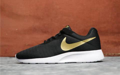 Nike Roshe Run TANJUN黑金 耐克奥运伦敦三代高品质情侣跑步鞋 货号:AQ7154-001