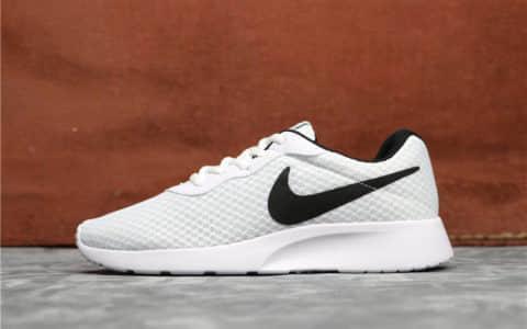 Nike Roshe Run TANJUN白黑 耐克伦敦三代奥运款轻便透气网布跑步鞋 货号:812654-100