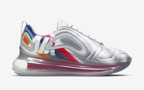 Nike Air Max 720 WMNS耐克全新银灰配色720气垫鞋简直不好太好看 货号:AR9293-011