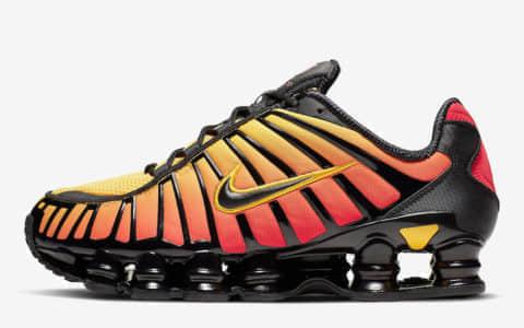 "Nike为Shox TL打造了一款名为""Sunrise""的""日出妆"" 货号:AV3595-004"