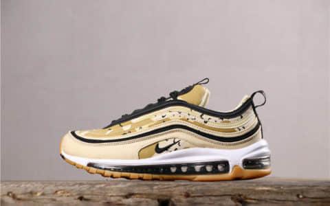 Nike Air Max 97耐克迷彩子弹头97气垫鞋真标带半码 经典复古百搭休闲气垫运动鞋 货号:975844-204