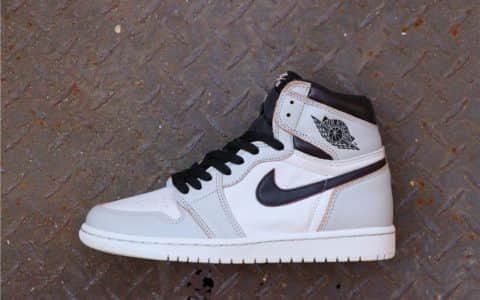 Nike SB x Air Jordan 1 High OG Light Bone刮刮樱花粉 乔丹联名耐克SB纯原级原厂皮料AJ1 货号:CD6578-006