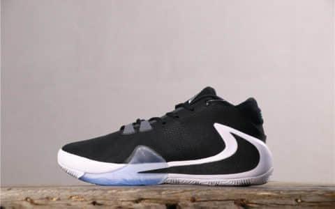 Nike Zoom Freak 1耐克登月1代黑白公司级带半码 字母哥签名双七点Zoom大倒钩 原楦开发 货号:BQ5633-001