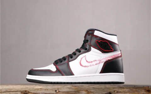 "Nike Air Jordan 1 High OG Defiant""Tour Yellow""耐克AJ1拆线黄钩纯原 原楦型开发纸板 货号:CD6579-071"