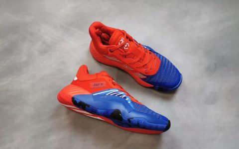 adidas D.O.N.lssue阿迪达斯公司级高品质米切尔首款签名鞋蜘蛛侠元素中底Bounce缓震 货号:EF2400