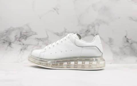 Alexpander McQueen麦昆三代最新透明元素气垫鞋原厂鞋盒顶级品质