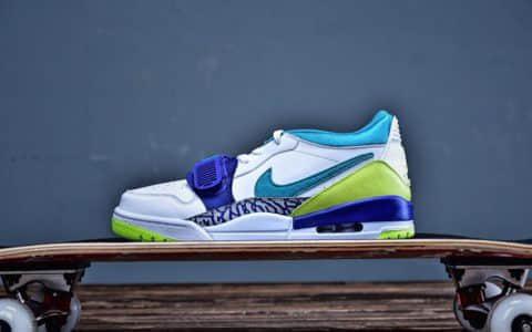Air Jordan Legacy 312乔丹公司级低帮最强三合一雪碧配色AJ篮球鞋 货号:CD7069-103
