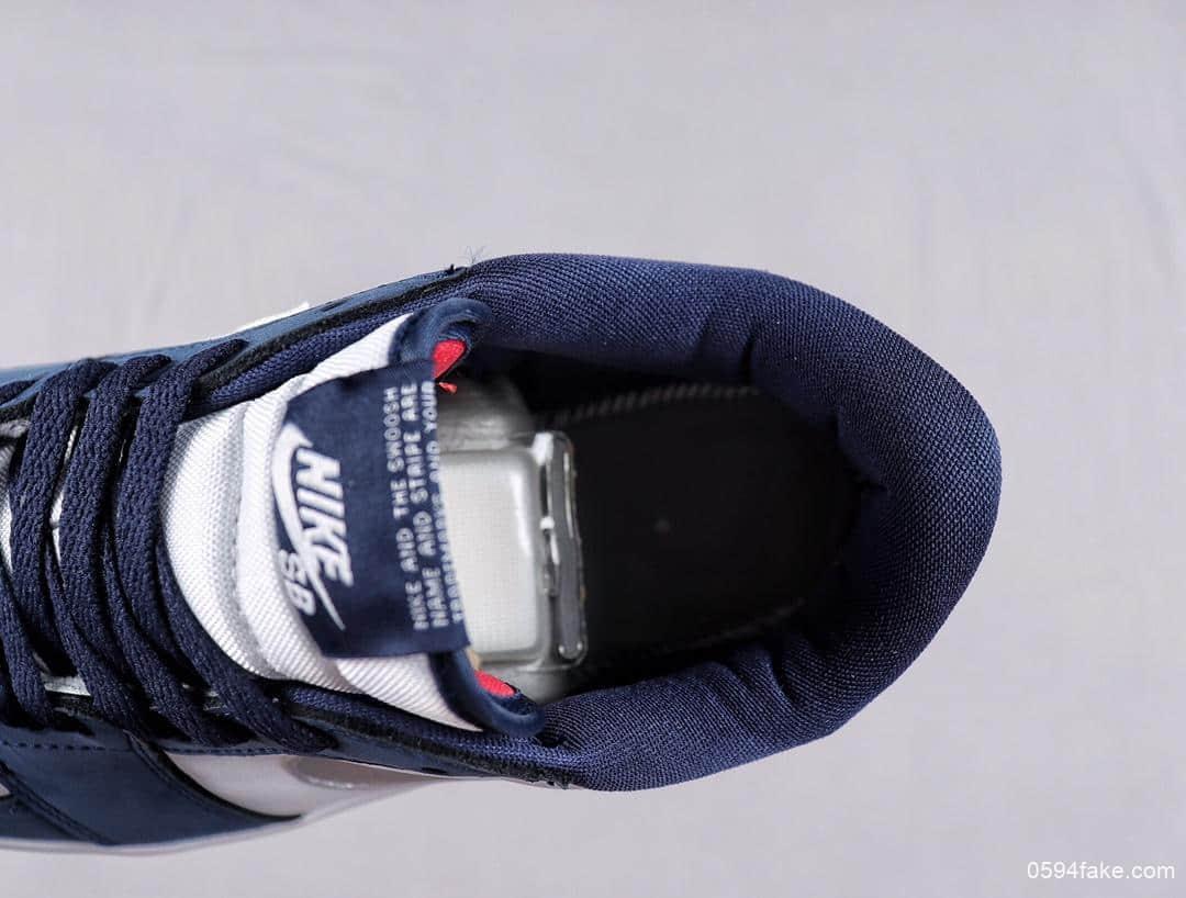 耐克联名Nike SB x Air Jordan 1 Low乔丹1代低帮公司级高品质原厂刺绣实战篮球鞋 货号:CJ7891-400