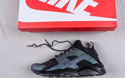耐克Nike Air Huarache Ultra Suede ID华莱士四代复古慢跑鞋系列顶级复刻 货号:847567-005