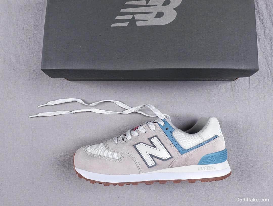 新百伦New Balance 574原厂渠道订单NB复古慢跑鞋外围可充正