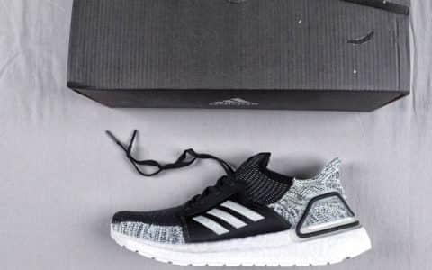 阿迪达斯Adidas Ultra Boost 19 CONSORTIUM公司级超弹力爆米花运动休闲跑步鞋 货号:G27484