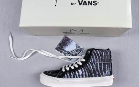 万斯Ralph Steadman x Vans Vault OG LX Sk8-Hi插画联名真标硫化工艺原标原盒高帮板鞋 货号:VN0A45JLVQV