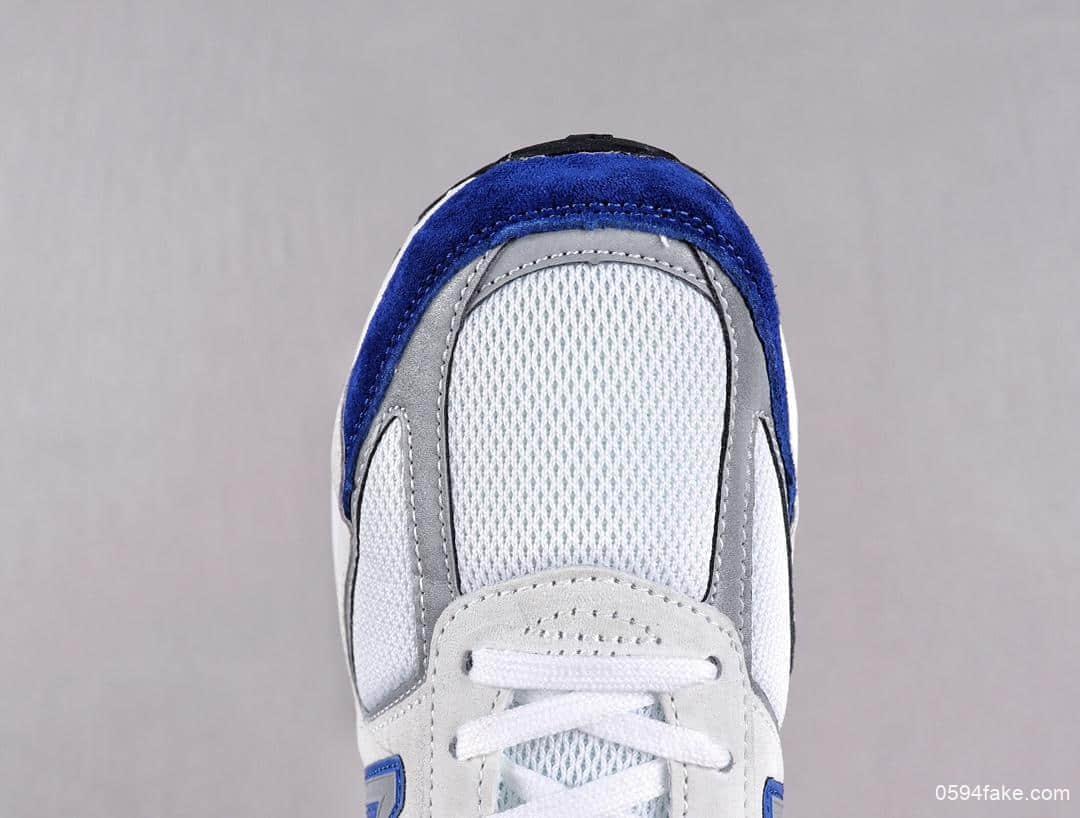 新百伦NEW BALANCE 990v5 Made in US NB美版红蓝配色3M反光设计纯原版本7层组合大底美式总统慢跑鞋 货号:M990NB5