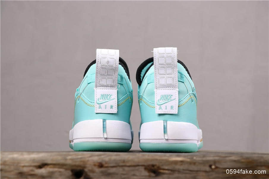 乔丹Air Jordan 33 SE Guo Ailun公司级郭艾伦AJ33PE薄荷绿低帮篮球鞋 货号:CD9561-103