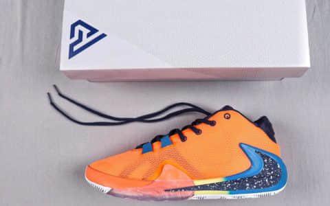 耐克Nike Zoom Freak 1公司级版本字母哥一代签名实战篮球鞋 货号:BQ5422-800