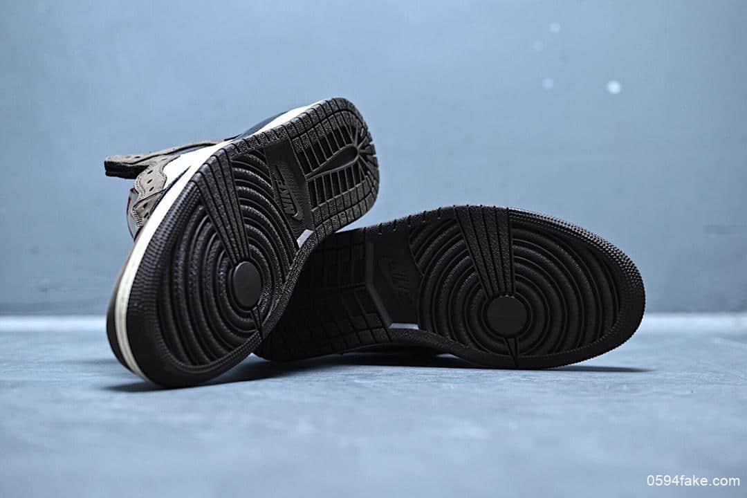 乔丹Travis Scott x Air Jordan 1 Retro High OG Cuctus Jack乔1AJ1高帮反向倒勾OG纯原版本几率过验市面最高版本 货号:CD4487-100