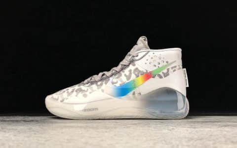 Nike Zoom KD 12 EP炫彩斑点 耐克杜兰特12代公司级真标市场最高版本年度最佳战靴 货号:AR4230-106