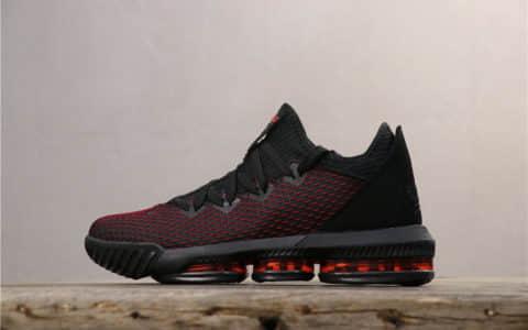 Nike Lebron Xvi EP黑红 耐克纯原级勒布朗詹姆斯16代真纤维气垫 货号:BQ6582-900