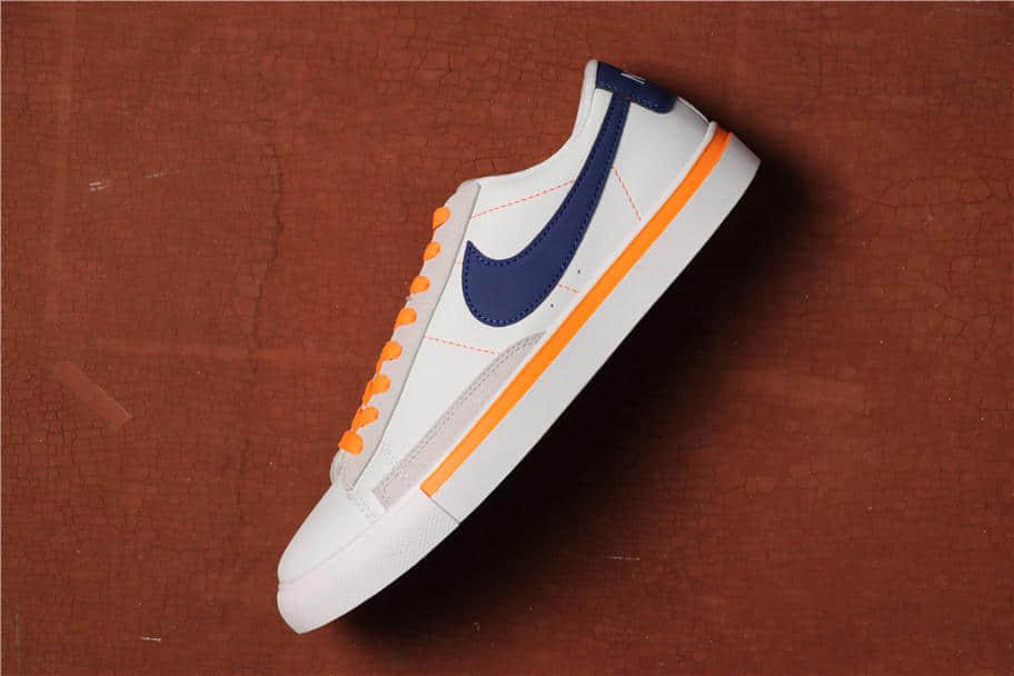 Nike Blazer Low白蓝 耐克开拓者真标带半码头