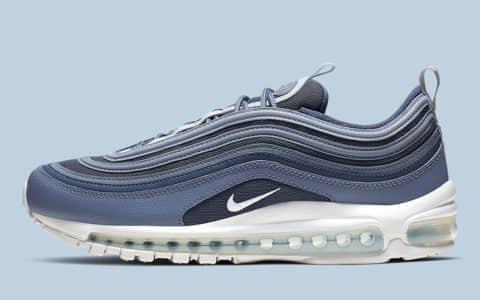 "Nike Air Max 97""Sanded Purple""清新的灰蓝色调 现已上市 货号:921826-500"