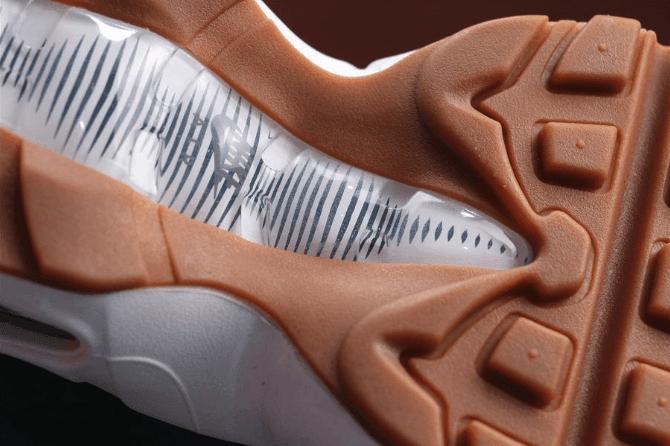 Nike Air Max 95 PRM浅蓝 耐克公司级子弹95系列牛筋底透明气垫 货号:538416-402