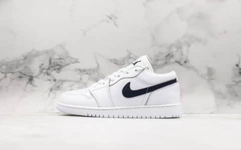 乔丹Air Jordan 1 Low White低帮AJ1真配色出货原鞋开模室内实战篮球鞋 货号:553560-114