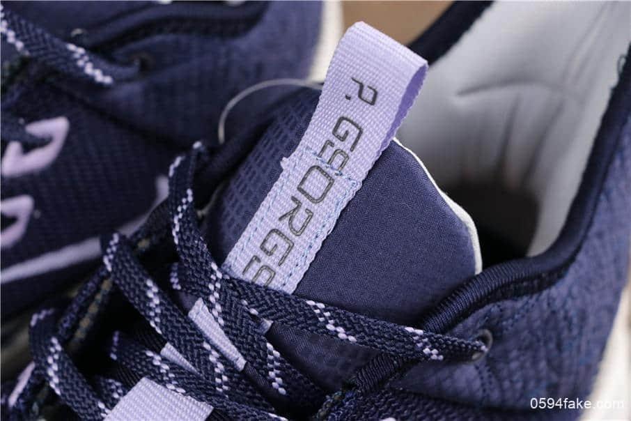 耐克Nike PG3 NASA EP紫罗兰保罗乔治三代宇航员联名配色公司级版本实战篮球鞋 货号:AO2608-901