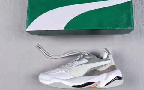 彪马Sneakerness X Puma Thunder L联名款纯原级金泫雅代言复古老爹鞋 货号:367516-08