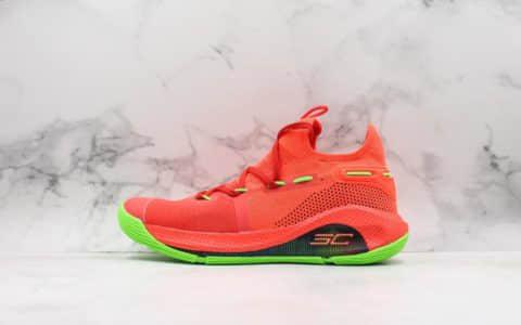 库里UA CURRY 6灭世纯原版本第六代库里实战篮球鞋大几率过验区别市面通货版本 货号:3020612-607