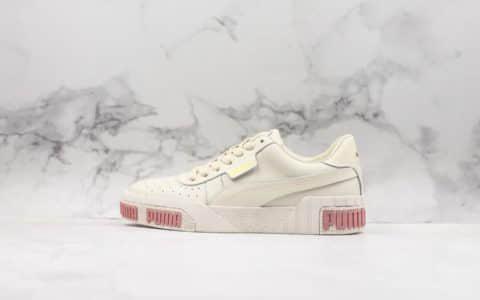 彪马PUMA Cali Women's Leather公司级版本复古网球风松糕百搭休闲运动皮革板鞋 货号:370811-02