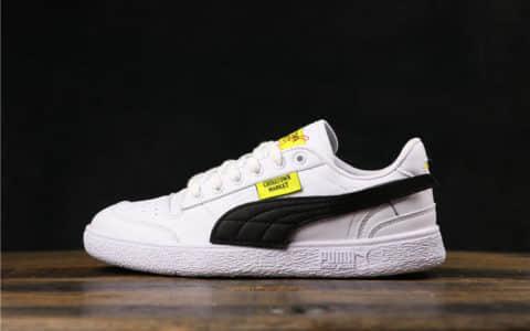 彪马联名款Chinatown Market x Puma Ralph Sampson Lo Black拉尔夫·桑普森系列低帮百搭休闲运动皮革板鞋公司级版本 货号:371089-01