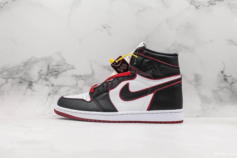 乔丹Air Jordan 1 RETRO HIGH OG AJ1新黑红描边