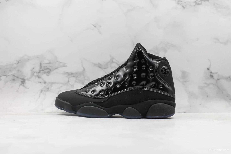 乔丹Air Jordan 13 Cap And Gown乔丹13代纯原版本高端篮球鞋黑武士猫眼原盒原标市面最顶级版本所有细节到位 货号:414571-012